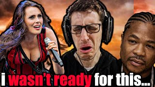 NEVER THOUGHT This Would Work WITHIN TEMPTATION Ft XZIBIT And We Run REACTION