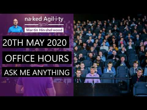"<span class=""title"">20th May 2020: Office Hours \ Ask Me Anything</span>"
