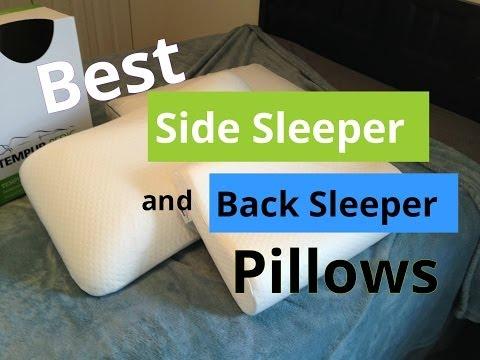 Best Side Sleeper and Back Sleeper Pillows
