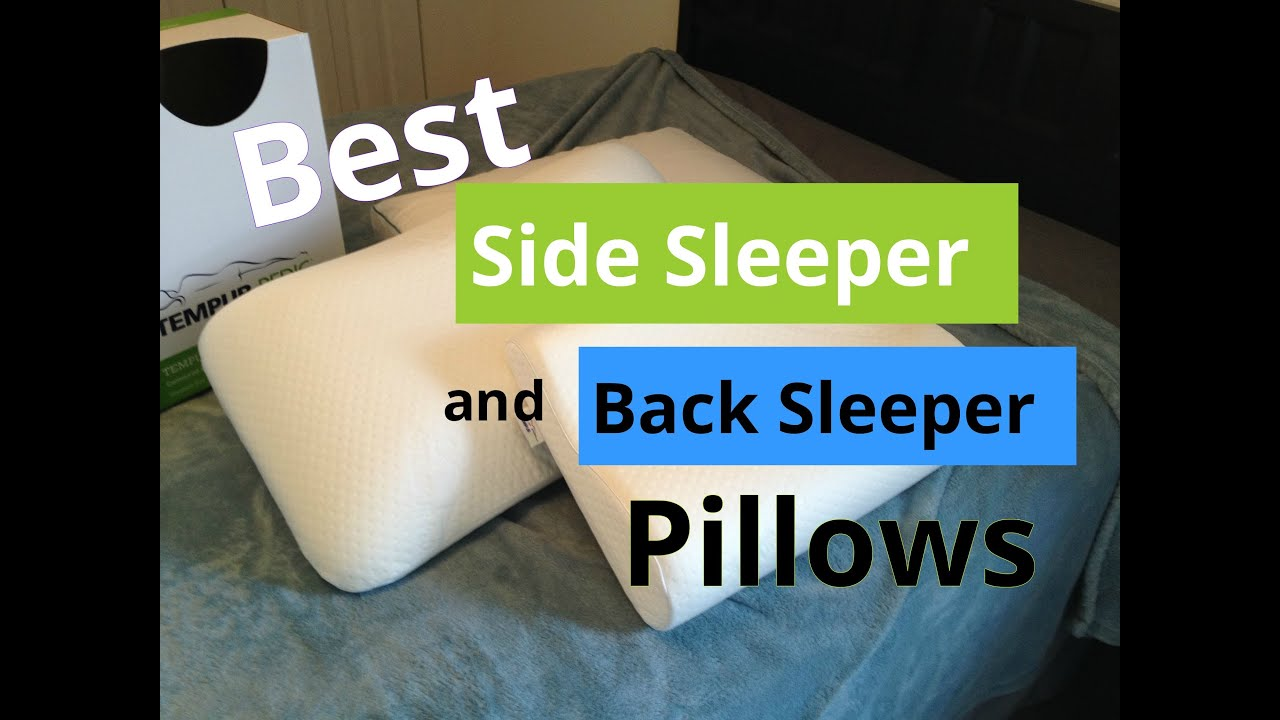 Best Side Sleeper And Back Sleeper Pillows Youtube