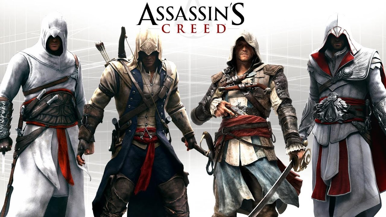 Assassins Creed 4 Black Flag Outfits Altair Ezio Connor