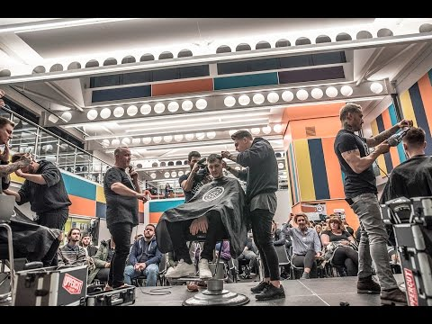 Preston College - GBBB - Barbering showcase