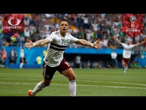 Gol de Chicharito Hernández | Corea del Sur 0 - 2 México | Mundial Rusia 2018