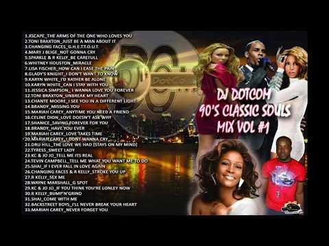 DJ DOTCOM PRESENTS 90'S CLASSIC SOULS MIX VOL 1 GOLD COLLECTION