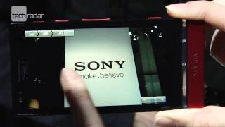 Sony Xperia P Hands-on Review_ First Look from MWC 2012