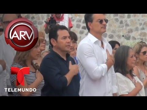 Ricardo Arjona inaugura segunda escuela en Guatemala   Al Rojo Vivo   Telemundo