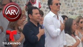 Ricardo Arjona inaugura segunda escuela en Guatemala | Al Rojo Vivo | Telemundo streaming