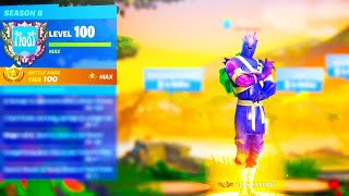 I Unlocked LEVEL 100 dans Fortnite Saison 8.