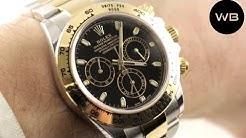 Rolex Daytona Steel Gold 116503 Cosmograph Daytona Luxury Watch Review