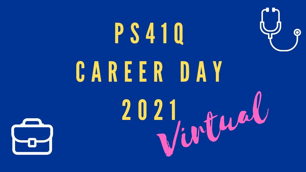 VIRTUAL CAREER DAY 2021: sign up deadline extended to 5/13