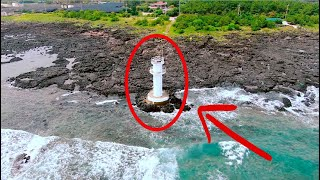 Fishing from this BEAUTIFUL Lighthouse!