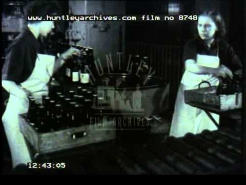 Industry in Germany, 1950's - Film 8748