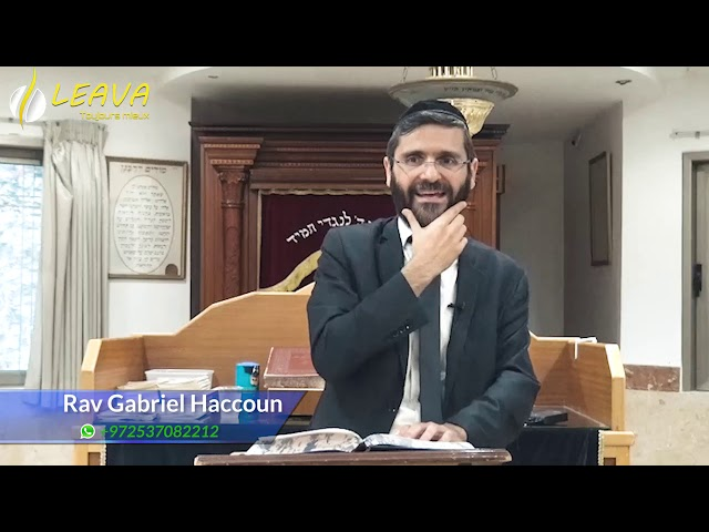 ELLOUL : 🚪La mézouza de l'année📅 - Rav Haccoun Gabriel