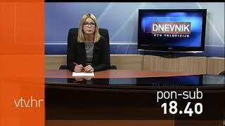 VTV Dnevnik najava 16. listopada 2017.