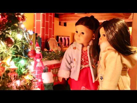 Christmas Sisters (American Girl Doll Stopmotion)