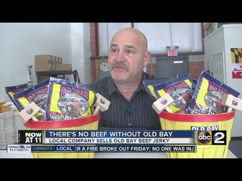 Baltimore company makes Old Bay beef jerky