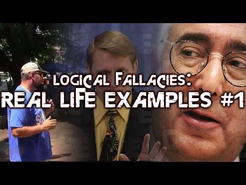 Logical Fallacies: Real Life Examples #1