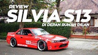Review Silvia S13 di Depan Rumah Dilan