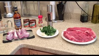 Delicious Healthy Barbacoa Beef Recipe! Fast & Easy Paleo Approved!
