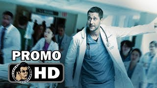 NEW AMSTERDAM Official Promo Trailer (HD) ABC Medical Drama Series