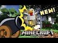 MCPE working CHICKEN CANNON! Command block trick tutorial! Minecraft PE