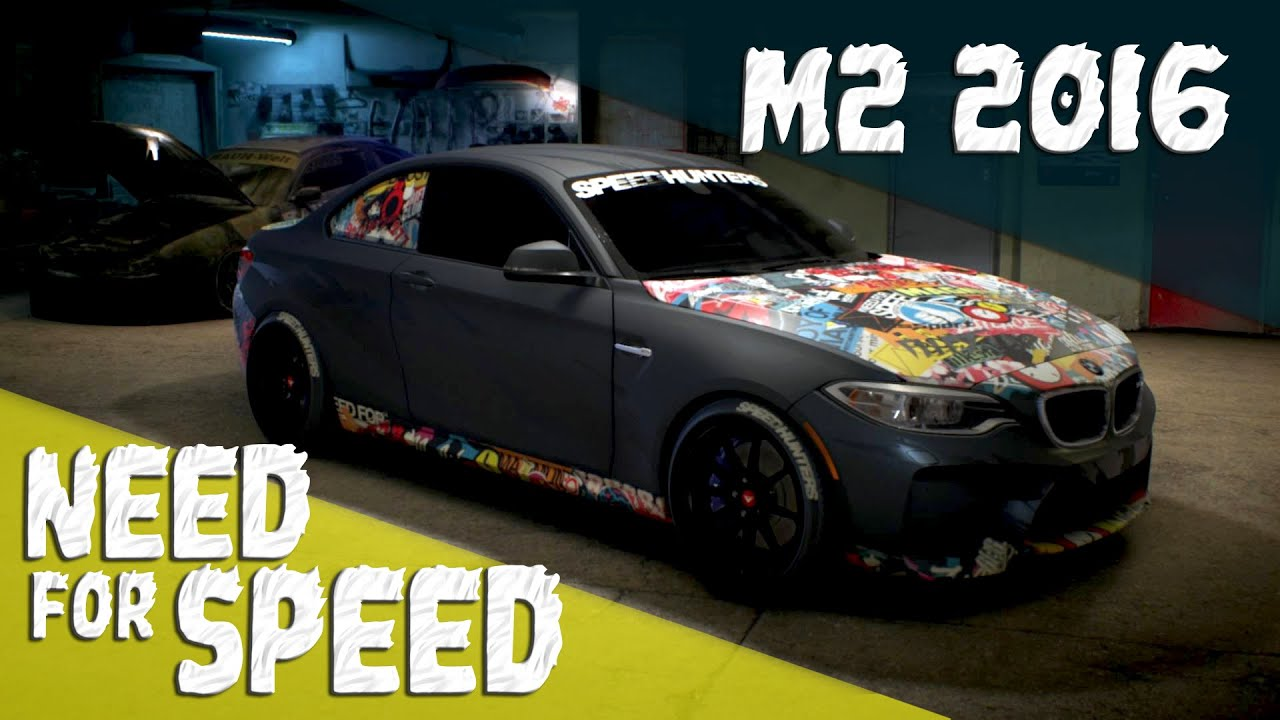 need for speed 2015 ps4 bmw m2 stickerbomb customization. Black Bedroom Furniture Sets. Home Design Ideas