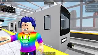 ROBLOX: Subway Testing Remastered - Meme Museum Train & Automated R40 Slant