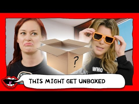 OPENING AN EBAY MYSTERY BOX with Grace Helbig & Mamrie Hart