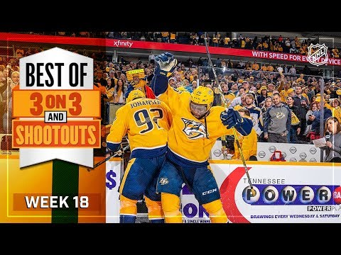 Best 3-on-3 and Shootout Moments from Week 18
