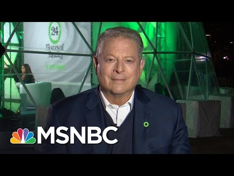 Al Gore Talks Meeting With Donald Trump , Climate Change, Electoral College | All In | MSNBC