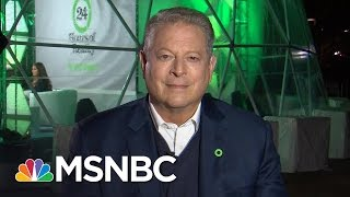 Al Gore Talks Meeting With Donald Trump , Climate Change, Electoral College   All In   MSNBC
