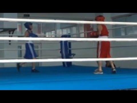 Samsun şampiyonası maçı (12)yaş grubu nakavt ettim!!!