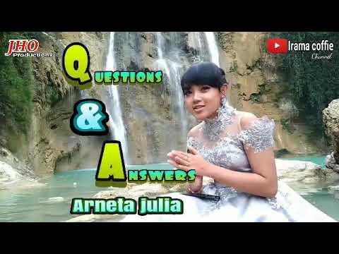 ARNETA JULIA Q & A biografi ratu pesek arneta julia