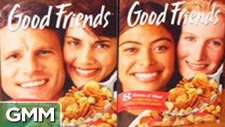 Awkward Photos on Cereal Boxes