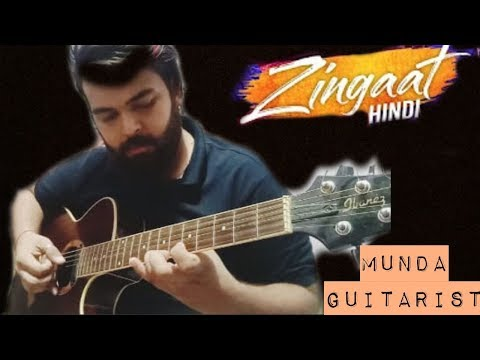 Zingaat Hindi | Dhadak | Fingerstyle Slow Ishaan & Janhvi | Ajay-Atul | Amitabh Bhattacharya