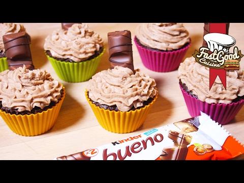 Recette des Kinder Bueno Cupcakes