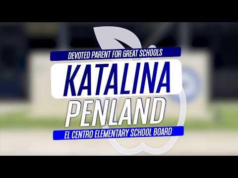 Katalina Penland for El Centro Elementary School Board