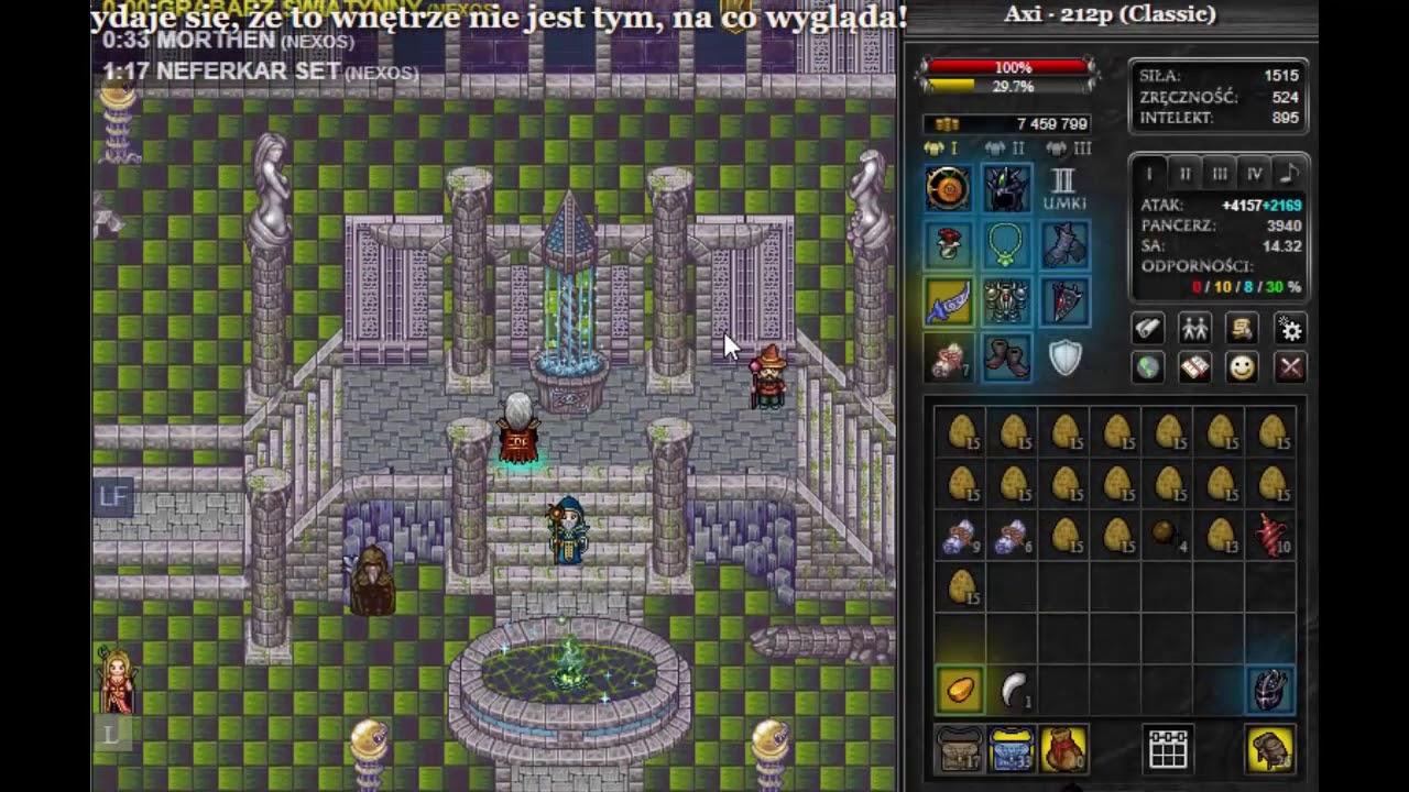 Margonem Szybkie wbijanie paladyna na Classic/e2 Nexos!