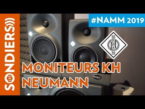 [NAMM 2019] NEUMANN MONITEURS SERIE KH 80 DSP / KH 120 / KH 310 et SUBWOOFER KH 750 DSP