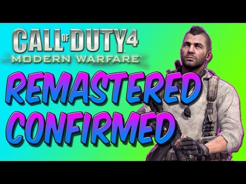 COD 4 REMAKE - *NEW* Call of Duty: INFINITE WARFARE! (Call of Duty 4 Modern Warfare NEXT GEN)