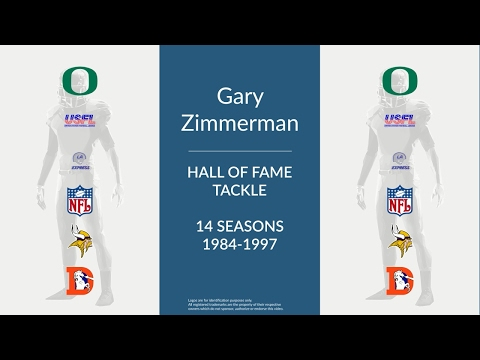 Gary Zimmerman: Hall of Fame Football Tackle