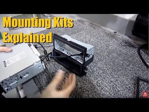 Why You Need A Mounting Kit When Installing An Aftermarket Head Unit / Deck | AnthonyJ350