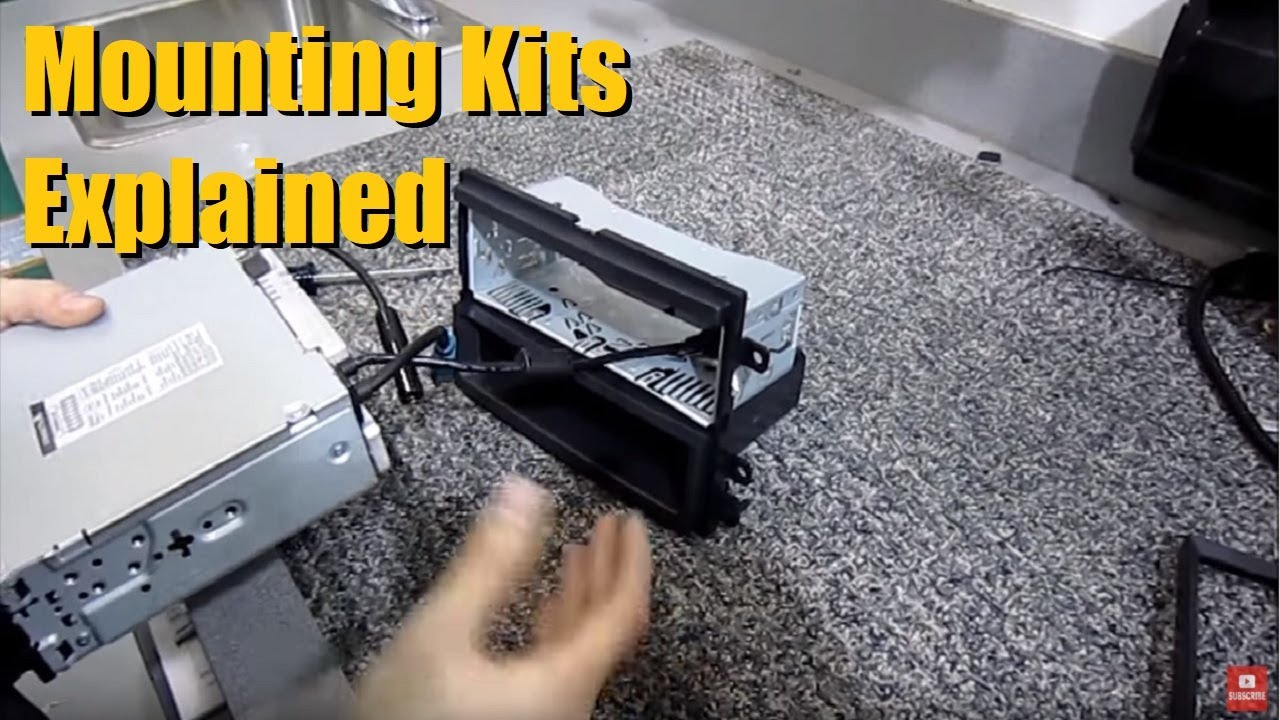 Why You Need A Mounting Kit When Installing An Aftermarket Head Unit Carstereoinstallationkits Car Amplifier Wiring Kits Audio Deck Anthonyj350