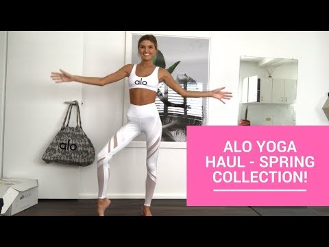 ALO YOGA HAUL Summer Collection