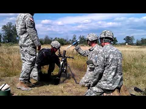 15 round fire for effect. 60mm mortar