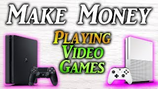 In this video i show you how to earn money playing games 2019. there are a lot of ways make money, but some easier and more effective than th...