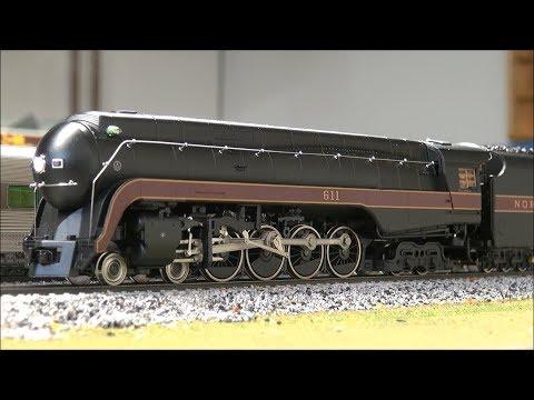 Review: MTH HO 611 Class J Loco Spirit of Roanoke Proto Sound 3.0!