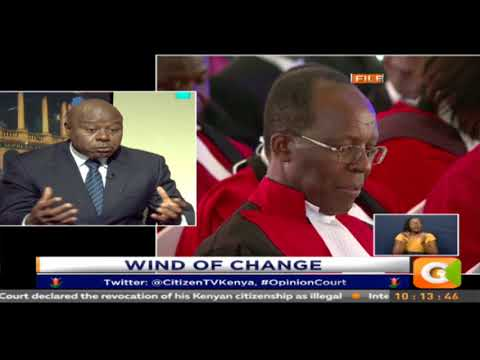 Opinion Court : Wind of change  #OpinionCourt: