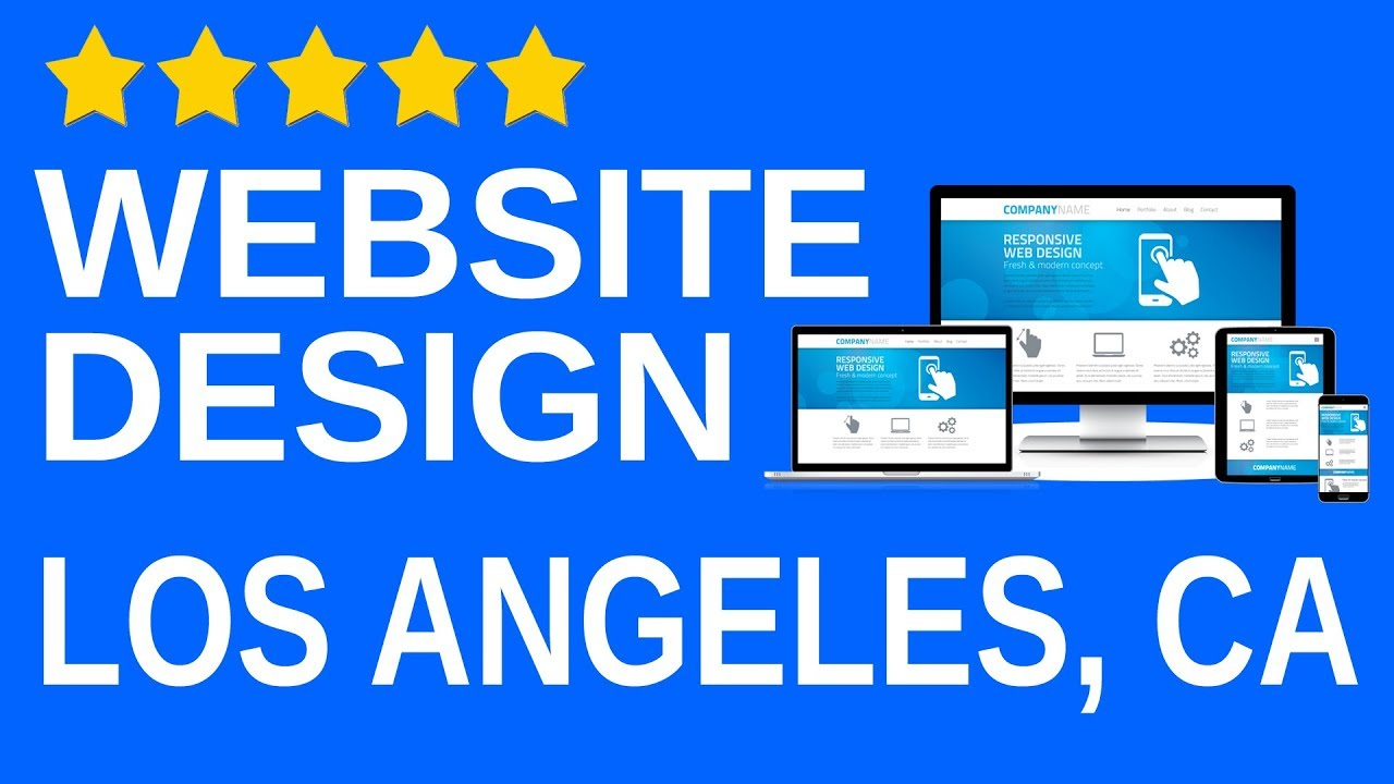 Los Angeles CA local Website design agency pany Professional
