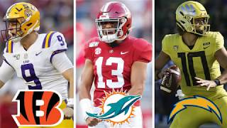 2020 FINAL NFL Mock Draft 4.0 | FULL First Round NFL Mock Draft WITH Trades